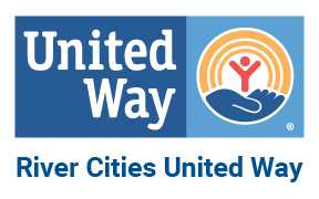 Blue logo for River City United Way